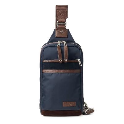 【カバンのセレクション】 マスターピース ボディバッグ ワンショルダーバッグ メンズ 斜めがけ デンシティ master-piece DENSITY 01388 ユニセックス ネイビー フリー Bag&Luggage SELECTION