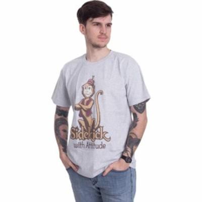インペリコン Impericon メンズ Tシャツ トップス - Sidekick With Attitude Heather Grey - T-Shirt grey