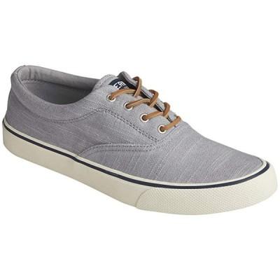 Sperry Striper II CVO Baja Linen メンズ スニーカー 靴 シューズ Light Grey