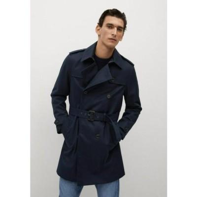 マンゴ メンズ ファッション TANGO - Trenchcoat - dunkles marineblau