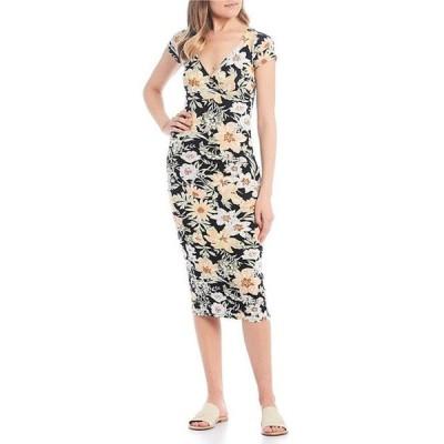 ビラボン レディース ワンピース トップス Dream On Floral Midi Dress