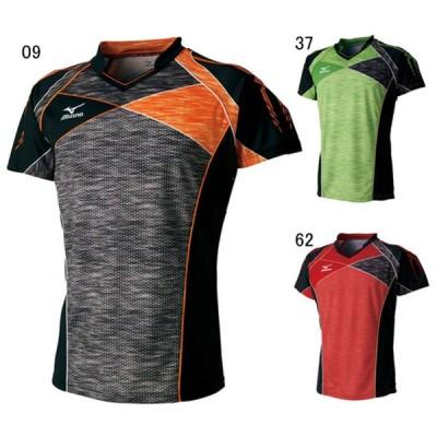 ミズノ 卓球 ユニホーム ゲームシャツ ゲームシャツ ブラック 09 MZ-82JA7001-09