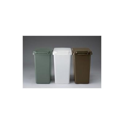 ゴミ箱 ふた付き ごみ箱 ダストボックス 連結 分別 便利 大容量 軽い ゴミ収納 キッチン 雑貨 収納雑貨 ワンハンド 人気 グリーン