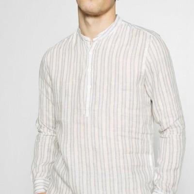 メンズ シャツ Shirt - beige