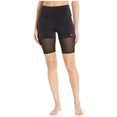 アロー ALO レディース 自転車 ショートパンツ ボトムス・パンツ High-Waist Lavish Bike Shorts Black