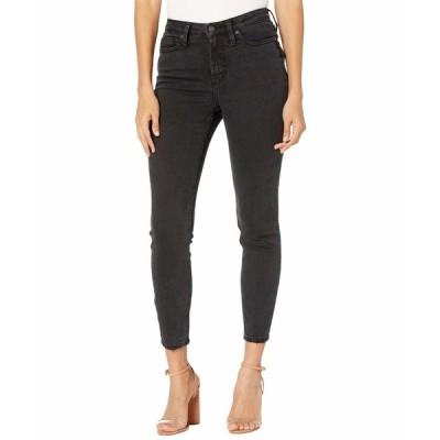 シルバージーンズ デニムパンツ ボトムス レディース High Note High-Rise Skinny Jeans L64027EBK588 Black