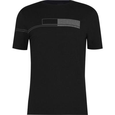 ヒューゴ ボス Boss メンズ Tシャツ トップス Tee 1 T-Shirt Black