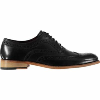 ファイヤートラップ Firetrap メンズ 革靴・ビジネスシューズ メダリオン シューズ・靴 Blackseal Somerset Brogues Black