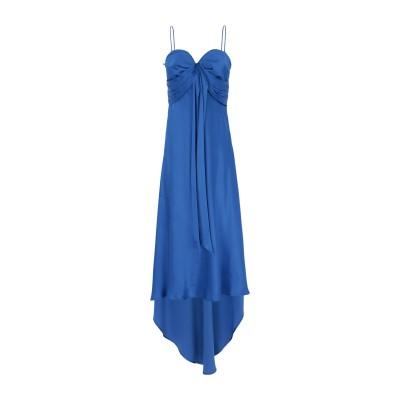 ピンコ PINKO 7分丈ワンピース・ドレス ブライトブルー 38 アセテート 75% / シルク 25% 7分丈ワンピース・ドレス