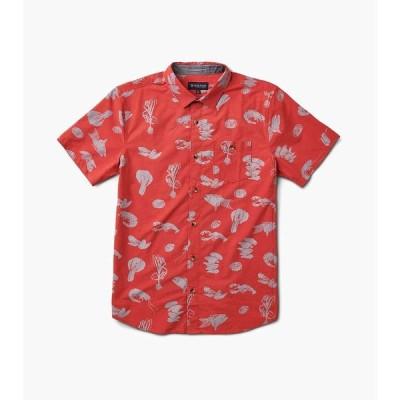 ローアク Roark メンズ シャツ トップス seafood stew shirt Red