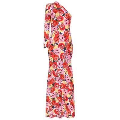 レベッカ ヴァランス Rebecca Vallance レディース パーティードレス ワンピース・ドレス blume crepe gown Print