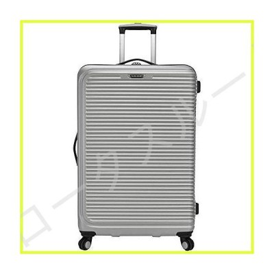 Traveler's Choice Maxporter 30 Inch Spinner Checked Trunk Luggage (Gray) 並行輸入品