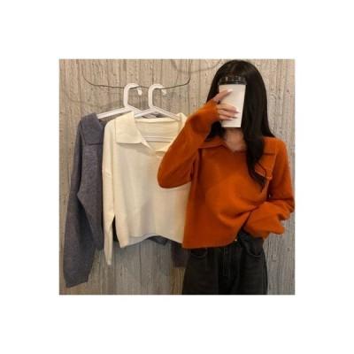 【送料無料】日系 セーターの女性 荷重 年 秋冬 ルース オーバーサイズ 長袖セーター 洋風 | 364331_A63759-9870720