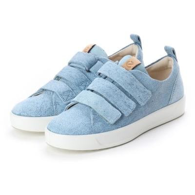 エコー ECCO Wmns Soft 8 Strap Sneaker (INDIGO 5)