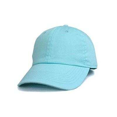 NEWHATTAN ニューハッタン アクア 正規品 コットン ツイル ウォッシャブル キャップ 帽子 定番 別注 オリジナル 作成 刺繍 対