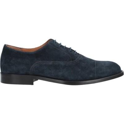マルコ フェレッティ MARCO FERRETTI メンズ シューズ・靴 laced shoes Bright blue