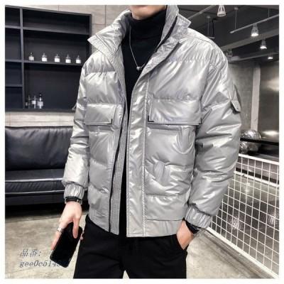 ダウンジャケット メンズ オシャレ ビッグサイズ フワフワ 厚手 ファション 冬物 ゆったり 防寒 アウター 暖かい