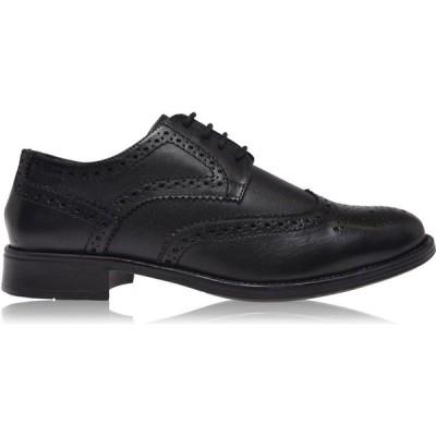 フランクライト Frank Wright メンズ シューズ・靴 ブローグ Rhine Brogues Black