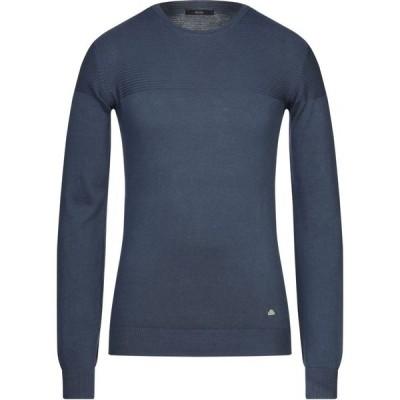 イエスズィー バイ エッセンツァ YES ZEE by ESSENZA メンズ ニット・セーター トップス sweater Dark blue
