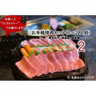 お手軽焼肉セット(1~2人前)x2セット