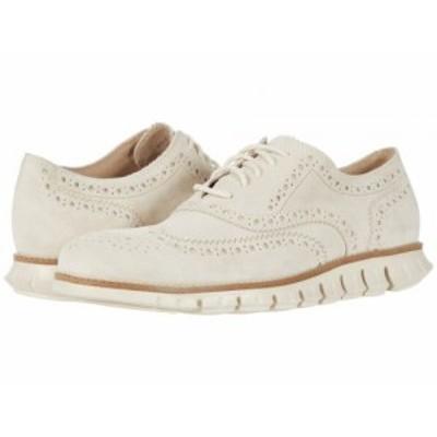 Cole Haan コールハーン メンズ 男性用 シューズ 靴 オックスフォード 紳士靴 通勤靴 Zerogrand Wing Tip Oxford Ivory【送料無料】