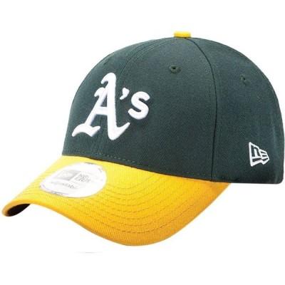 ニューエラ New Era メンズ キャップ 帽子 Oakland Athletics 9Forty Pinch Hitter Green Adjustable Hat