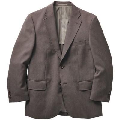 洗える袖丈ぴったりジャケット/ブラウン系/M