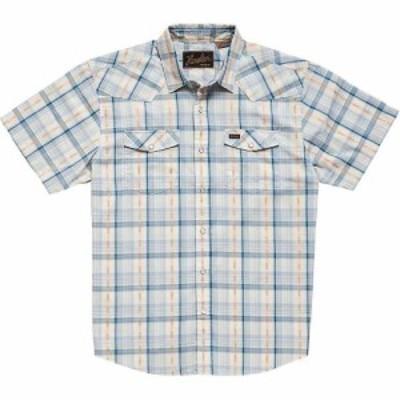 ホウラーブラザーズ Howler Brothers メンズ シャツ トップス H Bar B Snapshirt Brooks Plaid Creamy Blue
