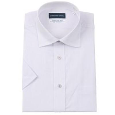 【半袖】【Smart Biz Cool】【ワイドカラー】スタンダードワイシャツ