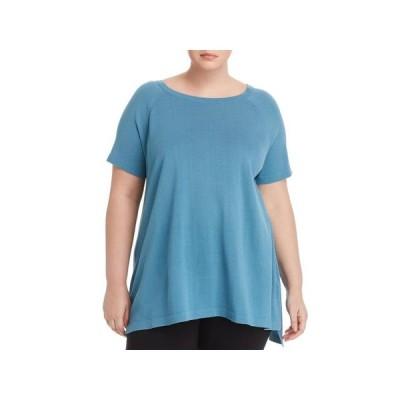 レディース 衣類 トップス Eileen Fisher Womens Plus Bateau Neck Lightweight Tunic Sweater ブラウス&シャツ