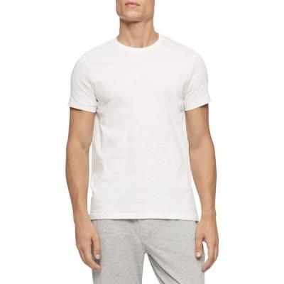 カルバンクライン Calvin Klein Underwear メンズ Tシャツ 5点セット トップス Cotton Classics Crew Neck 5-Pack White