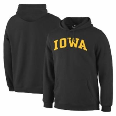 Fanatics Branded ファナティクス ブランド スポーツ用品  Fanatics Branded Iowa Hawkeyes Black Basic Arch Pullover Hoodie
