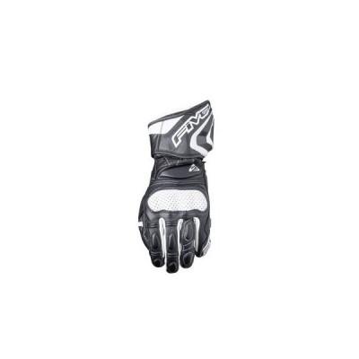 取寄 レーシンググローブ RFX3 016 S FIVE ブラック/ホワイト 1双