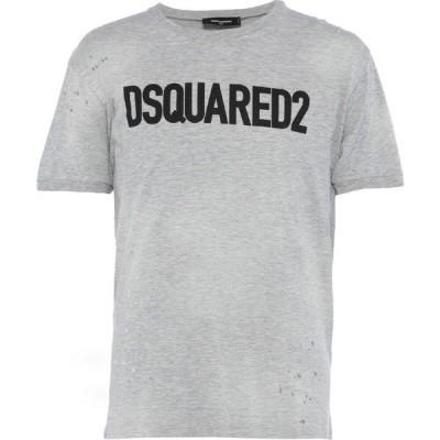ディースクエアード DSQUARED2 メンズ Tシャツ トップス t-shirt Light grey