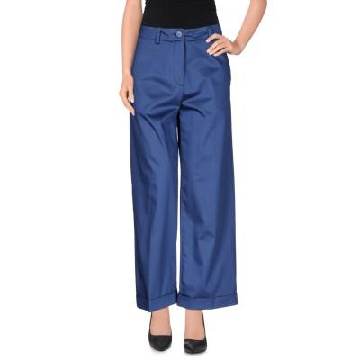 ラブ モスキーノ LOVE MOSCHINO パンツ ブルー 38 コットン 98% / ポリウレタン 2% パンツ