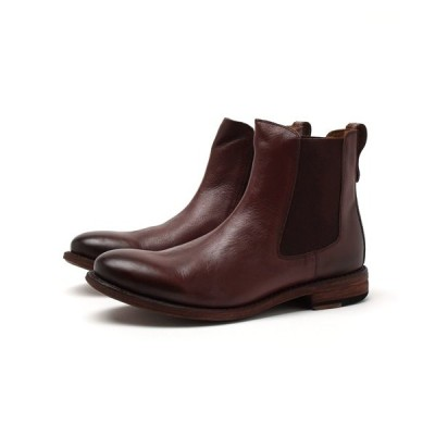 ブーツ London Shoe Make/ロンドンシューメイク グッドイヤーウェルト製法オールレザー サイドゴアブーツ