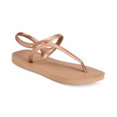 ハワイアナス レディース サンダル シューズ Women's Flash Urban Flip-Flop Sandals Rose Gold