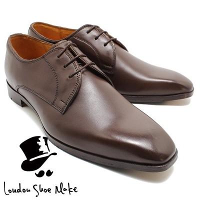 Oxford & Derby 1002 マッケイ製法外羽根プレーントゥ  ブラウン 本革ビジネスシューズ ビジネス ドレス 紐靴 革靴 仕事用 メンズ