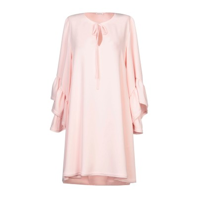 パロッシュ P.A.R.O.S.H. ミニワンピース&ドレス ライトピンク M ポリエステル 100% ミニワンピース&ドレス