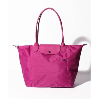 【ロンシャン】 Le Pliage Club Sac Shopping L レディース ピンク F Longchamp