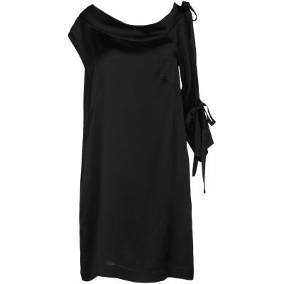ロートレ ショーズ L' AUTRE CHOSE ミニワンピース&ドレス ブラック 38 シルク 100% ミニワンピース&ドレス