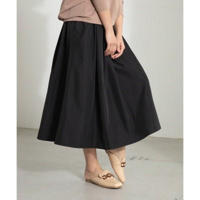 スカート タフタタックボリュームスカート(1R10-02194)