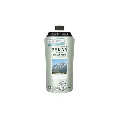 PYUAN(ピュアン) メリットピュアン ナチュラル (Natural) ミンティー&ミュゲの香り シャンプー つめかえ用 340ml 【 ?