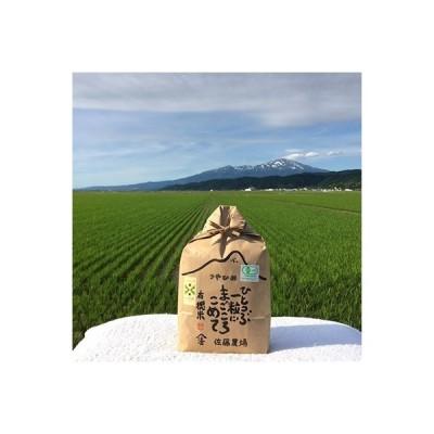 酒田市 ふるさと納税 有機栽培米つや姫3kg(玄米)