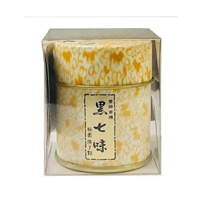 京都限定 祇園 原了郭 黒七味 缶(5g)