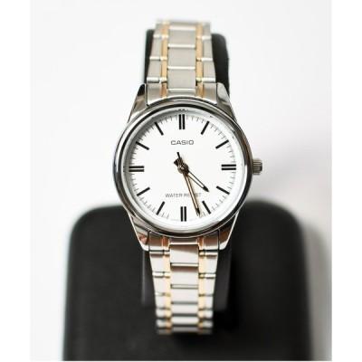腕時計 CASIO クラシックメタルラウンド ゴールド