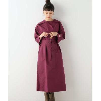 【ジャーナルスタンダード】  LS BELTED SHIRT DRESS:ワンピース レディース ベージュ XS JOURNAL STANDARD