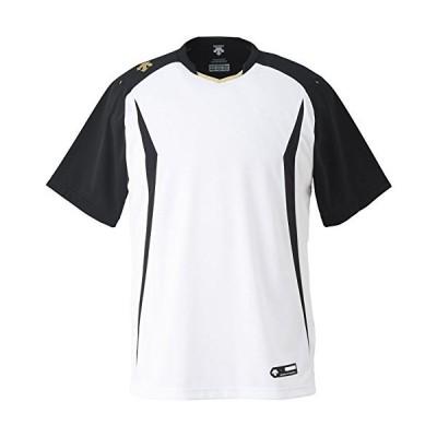 DESCENTE(デサント) DB-120 カラー:SWBK サイズ:M ベースボールシャツ
