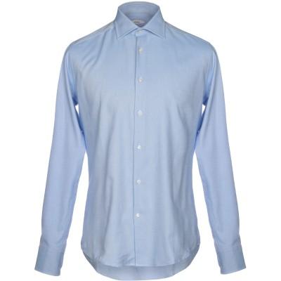 VARESI シャツ スカイブルー 39 コットン 100% シャツ
