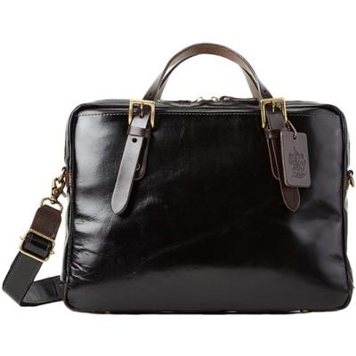 【カバンのセレクション】 ツェハ ブリリアント ビジネスバッグ メンズ 本革 日本製 薄マチ A4 Zeha 290−9805 ユニセックス ブラック フリー Bag&Luggage SELECTION